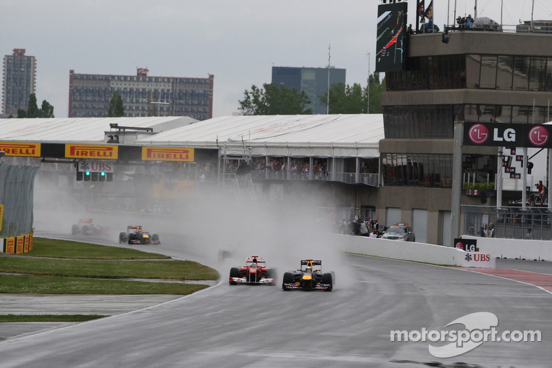 8 место. Гран При Канады-2011, автодром имени Жиля Вильнева