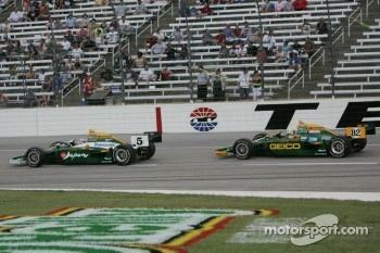 Takuma Sato & Tony Kanaan, KV Racing Technology-Lotus
