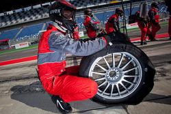 Audi Sport Team Abt Sportsline tire changer