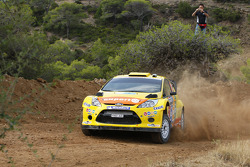 Хеннинг Сольберг и Илка Минор, Ford Fiesta RS WRC, M-Sport Stobart Ford World Rally Team