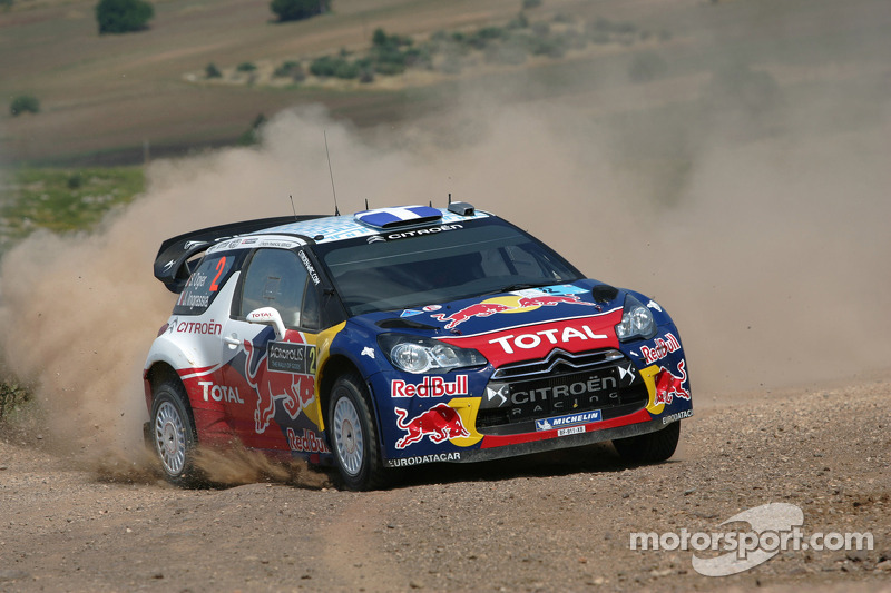 Sebastien Ogier ve Julien Ingrassia, Citroen DS3 WRC, Citroen Total World Rally Team