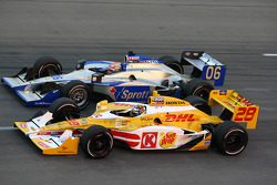 Ryan Hunter-Reay, Andretti Autosport and James Hinchcliffe, Newman/Haas Racing