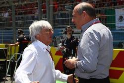 Bernie Ecclestone con Ron Dennis