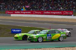 #219 BMW 325i: Gerald Fischer, Stephan Lipp, Michael Hollerweger, Martin Jakubowics