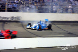 Bad crash for Sarah Fisher