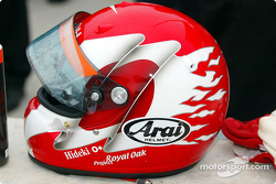 Hideki Noda's helmet