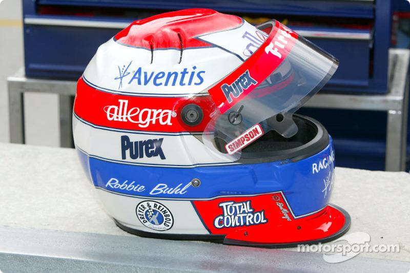 Robbie Buhl's helmet