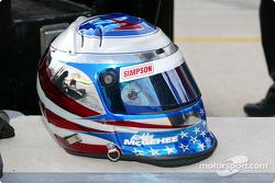 Robby McGehee's helmet