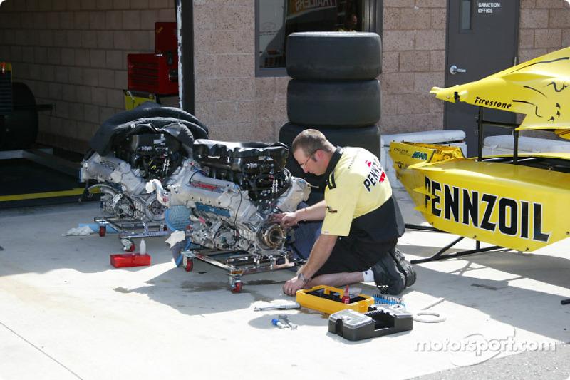 Garage du Panther Racing