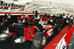 Penske garage