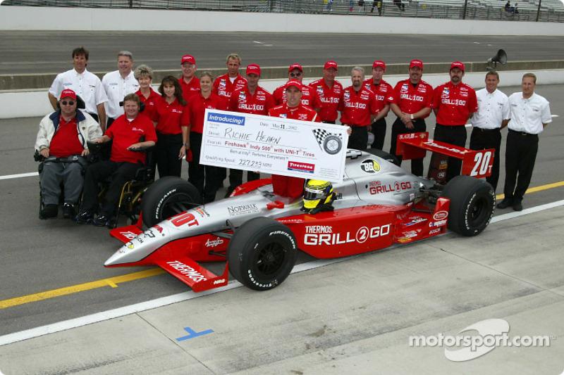 Richie Hearn and Sam Schmidt Motorsport team