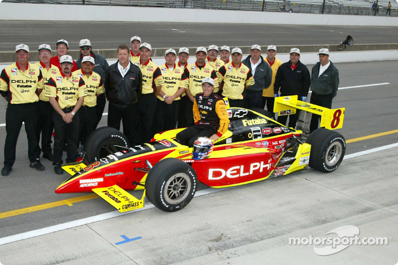 Scott Sharp and Kelley Racing team