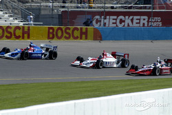 Dario Franchitti, Scott Mayer and Al Unser Jr.