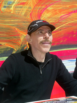 Peter Max during poster signing