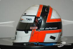 Gil de Ferran's helmet