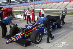 Team Menard Racing crew members