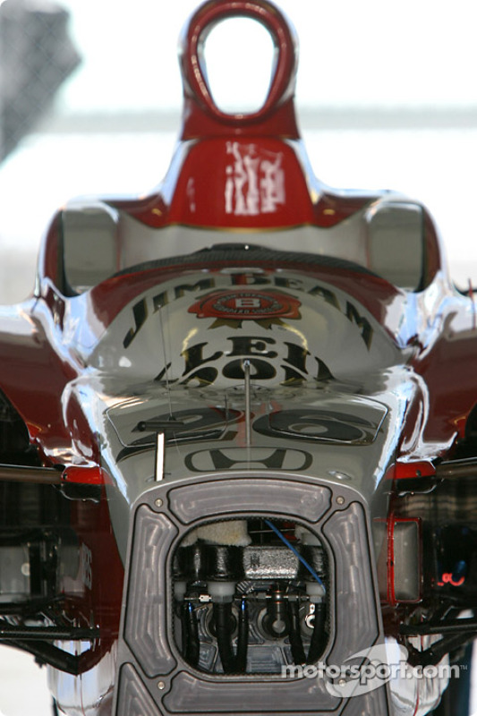 La voiture de Dan Wheldon, Andretti-Green Racing