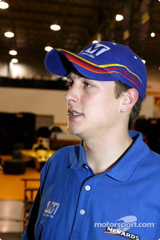 Mark Taylor, pilote Panther Racing
