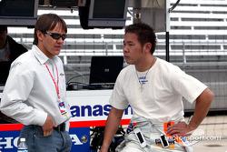 Adrián Fernández y Kosuke Matsuura