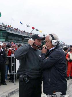 Brian Barnhart and Roger Penske