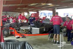 Miembros del equipo Mo Nunn Racing