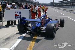 Alex Barron pulls out to qualify
