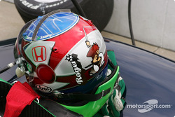 Roger Yasukawa's helmet