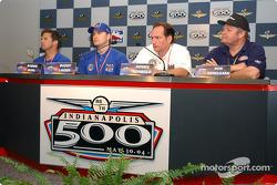 Press conference: Robbie Buhl, Buddy Lazier, Dennis Reinbold and Ron Hemelgarn