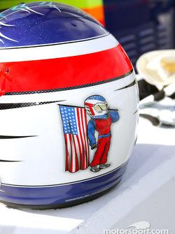 Townsend Bell's helmet
