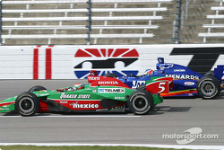 Adrian Fernandez and Townsend Bell