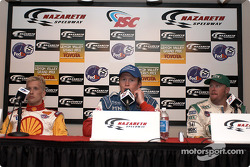 Press conference: Kenny Brack, Scott Dixon and Paul Tracy