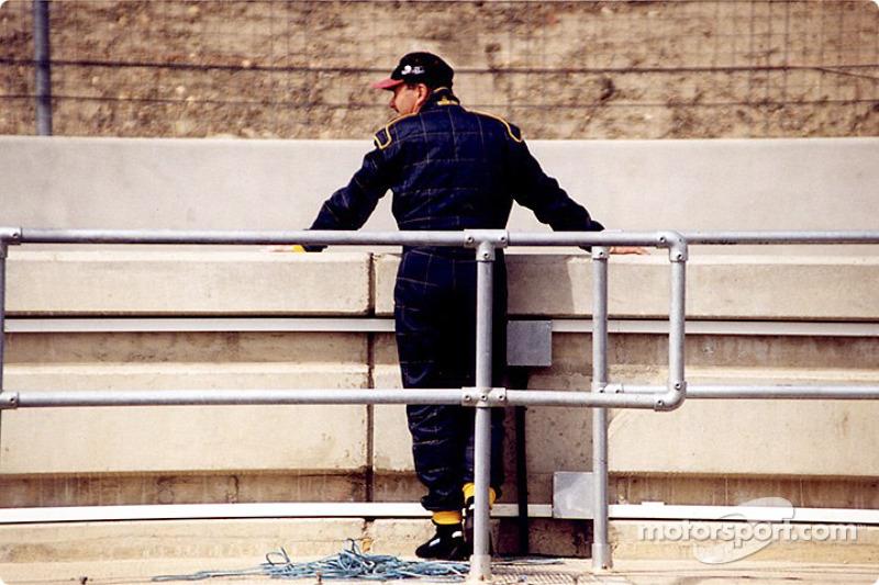 The comeback kid: Nigel Mansell