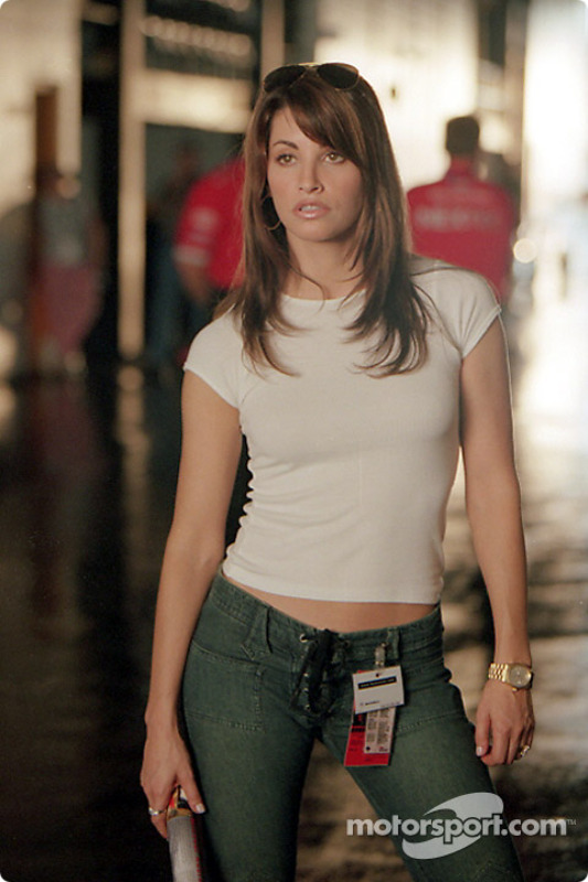 Sultry actress Gina Gershon, as Joe Tanto's ex-wife Cathy