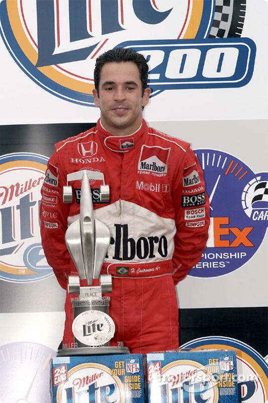 Helio Castroneves, vainqueur