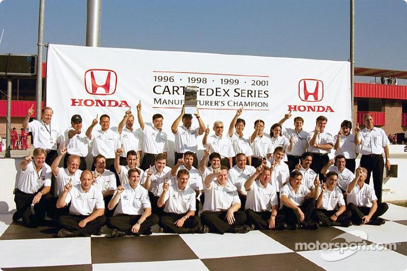 Honda: 2001 Manufacturer's Champion