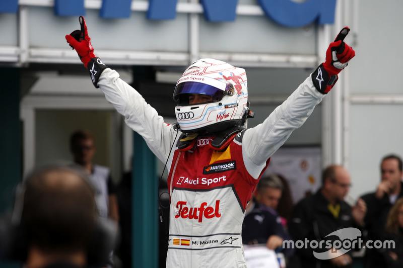 También ganó en la primera manga del final de la temporada en Hockenheim