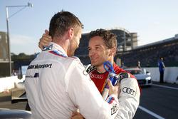 Martin Tomczyk, BMW Team Schnitzer and Timo Scheider, Audi Sport Team Phoenix
