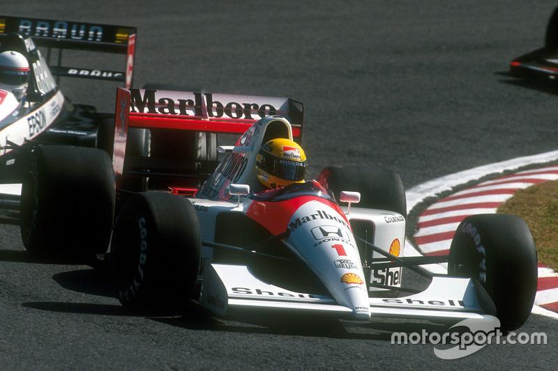 60-й поул: Айртон Сенна, Гран При Австралии, 1991 год