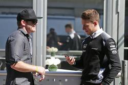 كونور دالى وستوفيل فاندورن، سائق الإختبارات بمكلارين هوندا