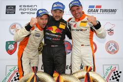 Podyum: Manuel Lauck, Kiki Sak Nana, Adam Osieka, Porsche 911 GT3 Cup