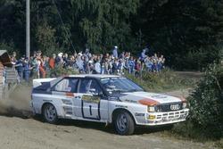 Ханну Миккола и Арне Хертц, Audi Quattro A2