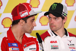 Andrea Iannone, Ducati Team and Cal Crutchlow, LCR Honda