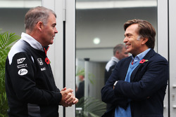 Jost Capito, McLaren Chief Executive Officer (Right)