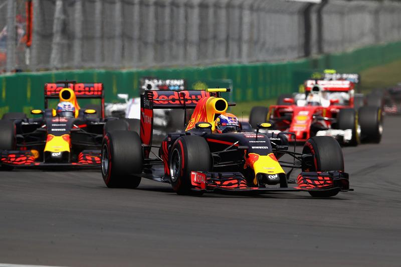 Sebastian Vettel x Max Verstappen - 2016