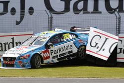 Scott McLaughlin, Garry Rogers Motorsport, Volvo, Unfall