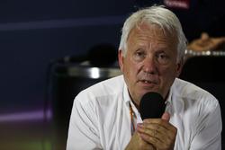 Делегат FIA Чарли Уайтинг