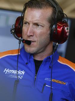 Alan Gustafson, jefe de equipo