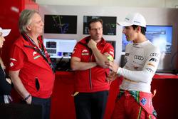 Dr. Peter Gutzmer, Schaeffler; Franco Chiochetti; Lucas di Grassi, ABT Schaeffler Audi Sport