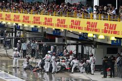 Пит-стоп: Эстебан Гутьеррес, Haas F1 VF-16