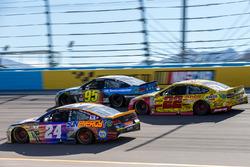 Chase Elliott, Hendrick Motorsports Chevrolet, Joey Logano, Team Penske Ford